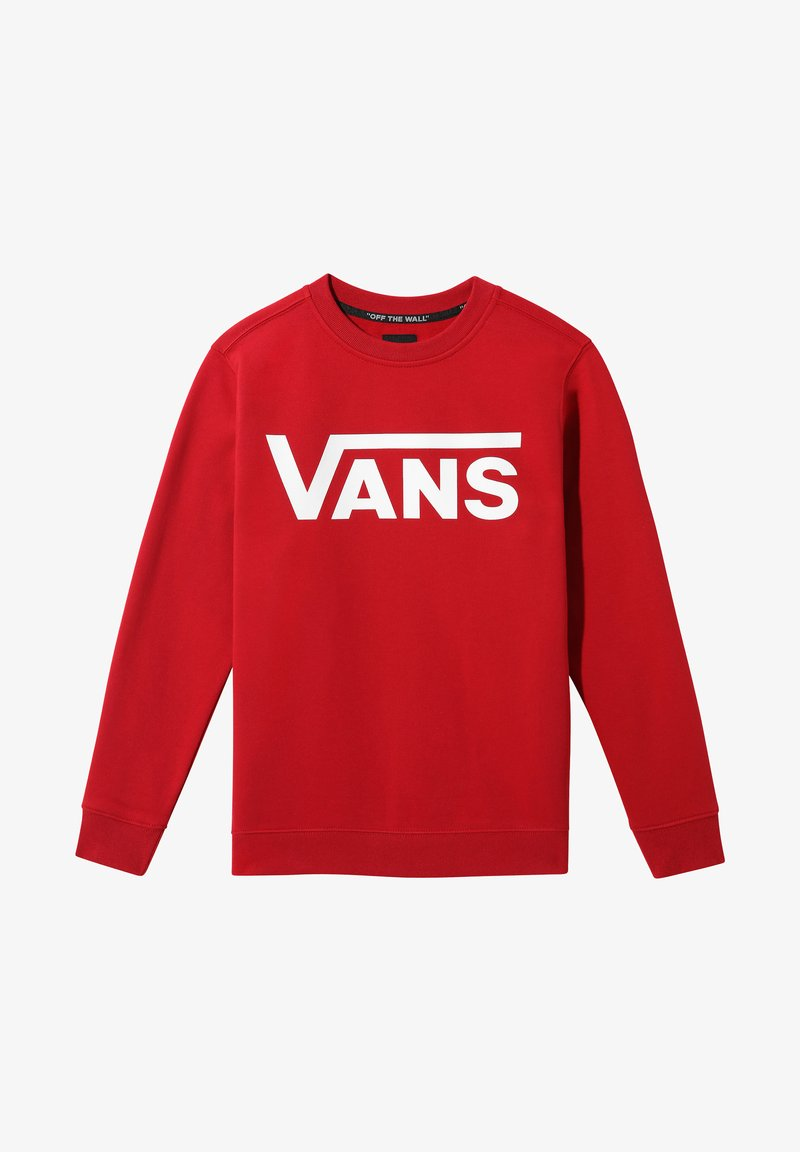 Vans - Sweatshirt - chili pepper-white