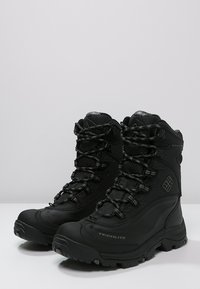 Columbia - BUGABOOT PLUS III OMNI-HEAT - Winter boots - black/charcoal - 2