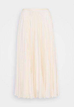 COLIBRI - Áčková sukně - creme