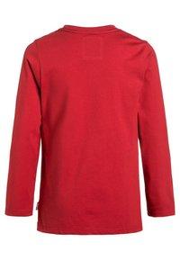Levi's® - Maglietta a manica lunga - red - 1