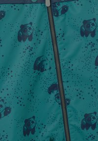 Color Kids - DOTS UNISEX - Snowsuit - dark green/dark blue - 4