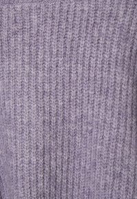 Weekday - HILLEVI HAIRY  - Cardigan - lilac purple dusty light - 2