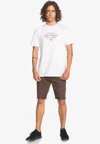 Quiksilver - UP TO NOW - Print T-shirt - white - 1
