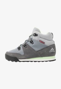 adidas Performance - SNOWPITCH COLD.RDY TRAXION HIKING SHOES MID - Hikingschuh - grey three/grey four/glow green - 1