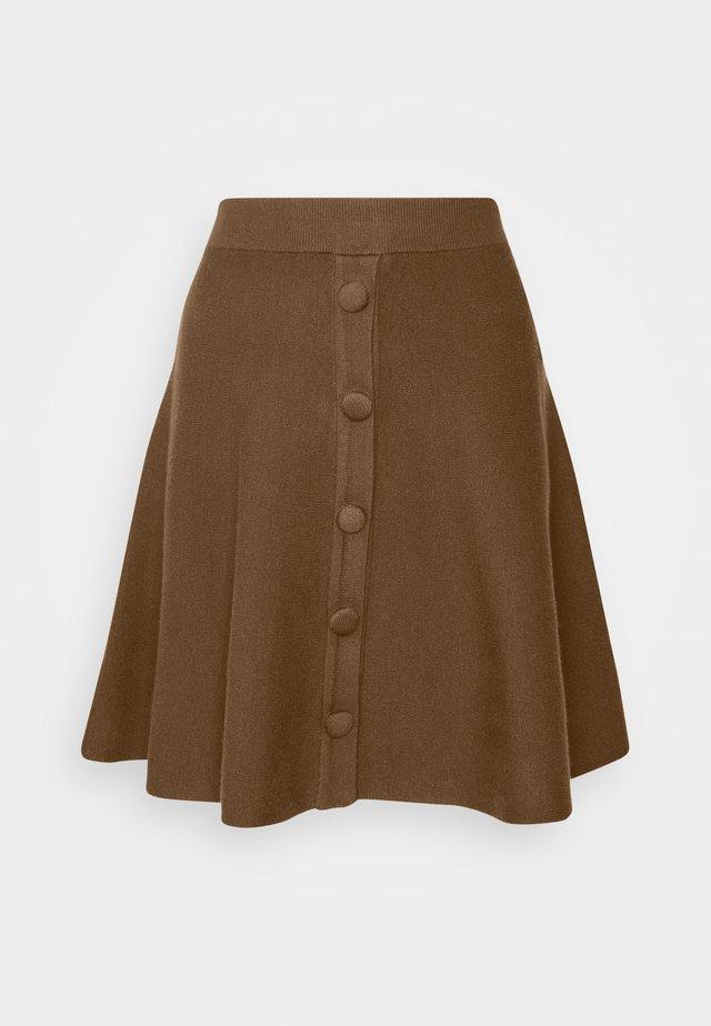 YASFONNY  SKIRT - A-line skirt - rubber