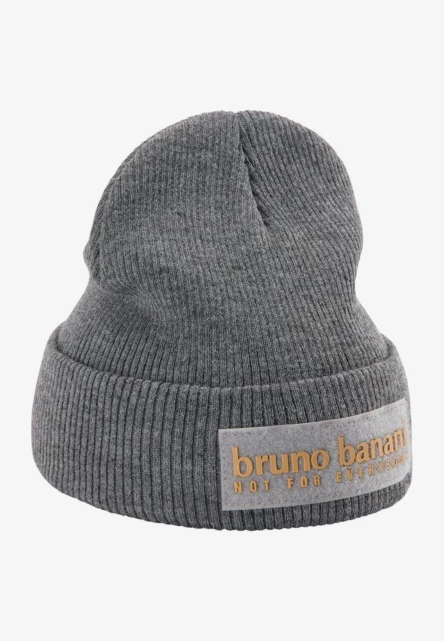 Beanie - grau melange