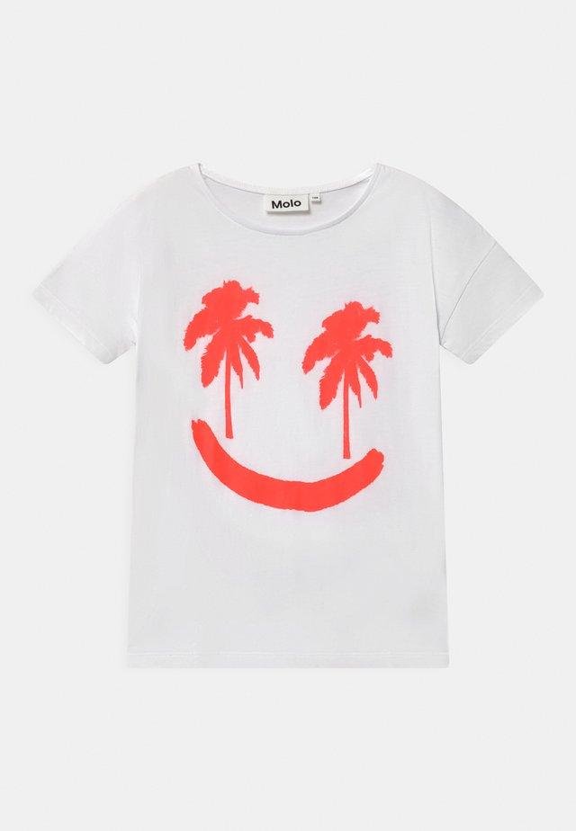 RIBILA - T-shirt con stampa - neon
