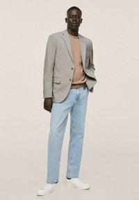Mango - Blazer jacket - open beige - 1