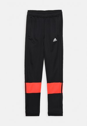 PANT - Tracksuit bottoms - black/pink