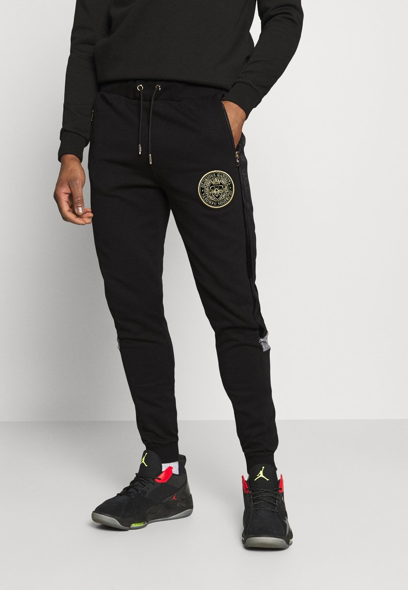 Glorious Gangsta - ARMANDO - Pantaloni sportivi - jet black