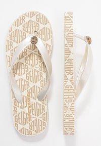 Kurt Geiger London - MONA MONO - T-bar sandals - white - 3