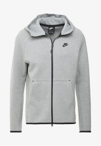 Nike Sportswear - TECH FULLZIP HOODIE - Mikina na zip - dark grey heather/black - 4