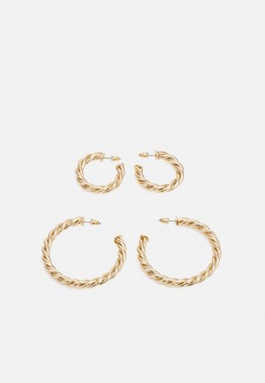 ADERIMA 2 PACK - Earrings - gold-coloured