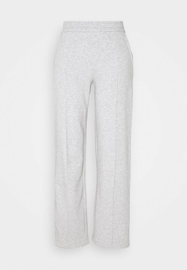 JDYLINE PINTUCK SWEAT PANT  - Träningsbyxor - light grey melange