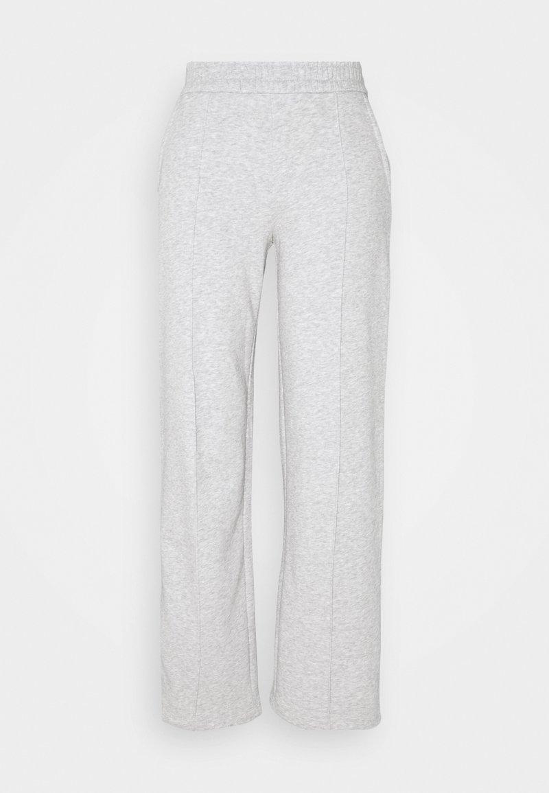 JDY - JDYLINE PINTUCK SWEAT PANT  - Tracksuit bottoms - light grey melange