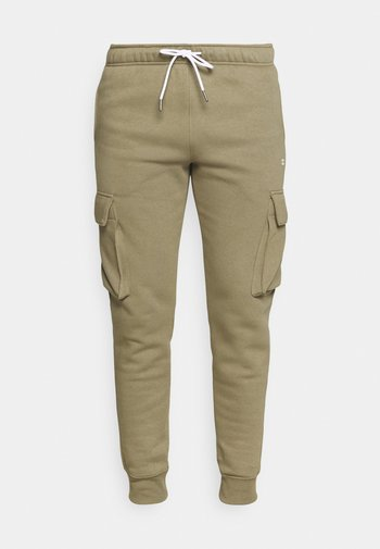 CUFF PANTS - Pantaloni sportivi - khaki
