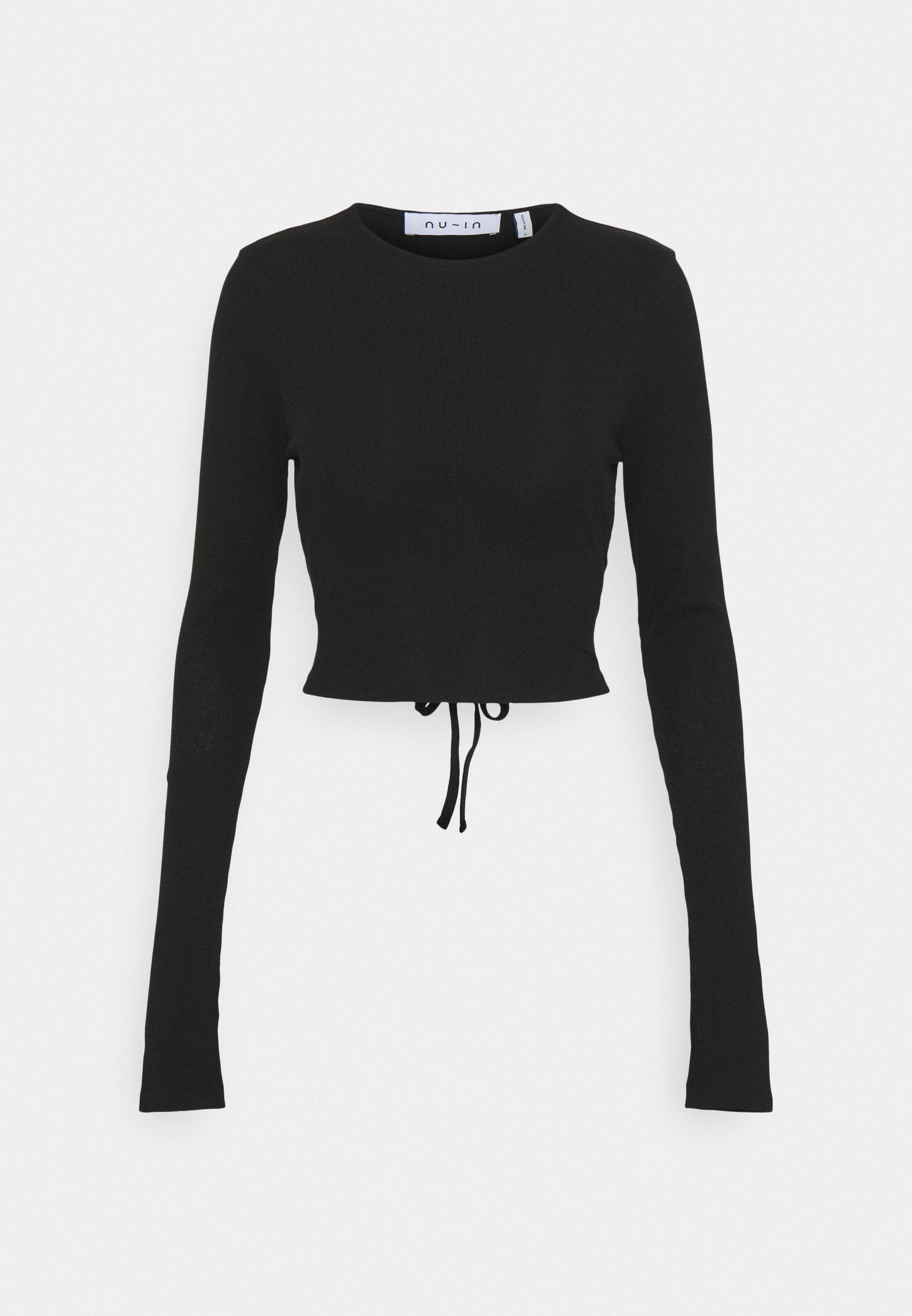 Femme CUTOUT TIE BACK - T-shirt à manches longues
