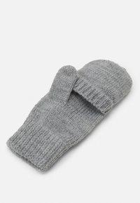 Barts - PUPPET BUMGLOVES UNISEX - Gloves - hether grey - 3