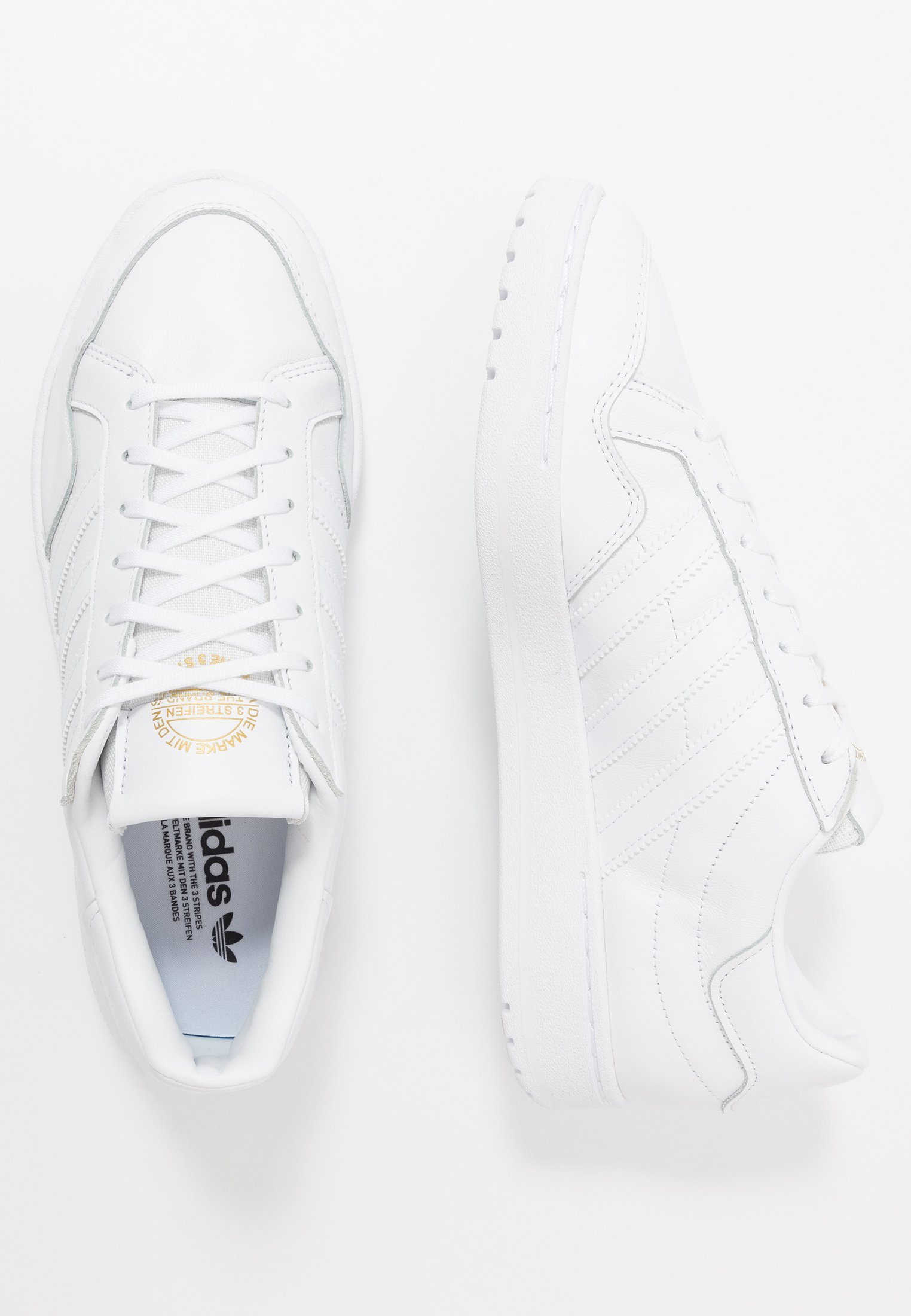 Adidas Originals Team Court - Joggesko Ftwwht/ftwwht/cblack/hvit
