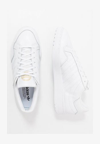 TEAM COURT - Sneakers - ftwwht/ftwwht/cblack
