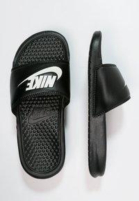 Nike Sportswear - BENASSI JDI - Badesandaler - black/white - 1