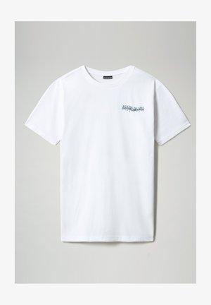 SOLE GRAPHIC - Print T-shirt - bright white