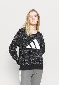 adidas Performance - WIN CREW - Bluza - black - 0