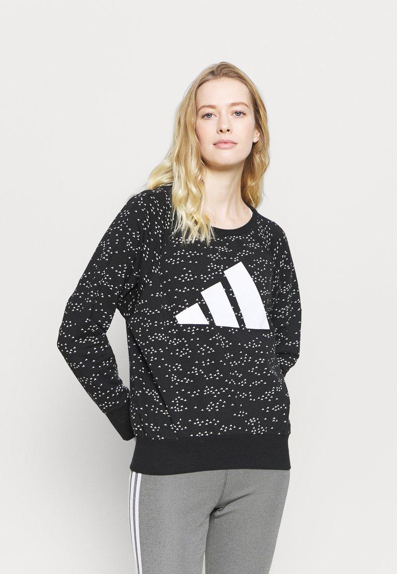 adidas Performance - WIN CREW - Bluza - black