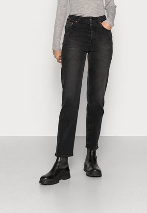 DAVIS - Straight leg jeans - rebel black