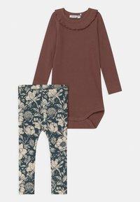 Name it - NBFRYLVA/NBFRANDI  - Pyjamashirt - maroon - 1