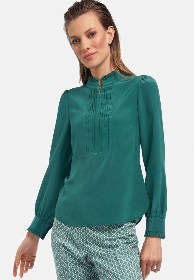 Bluse - smaragd
