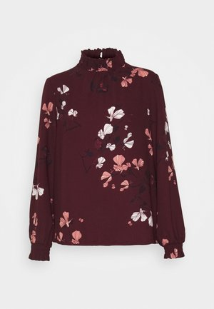 VMANNIE SMOCK - Blouse - winetasting