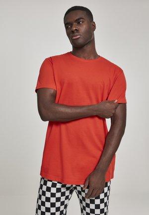 SHAPED LONG TEE DO NOT USE - Jednoduché triko - orange