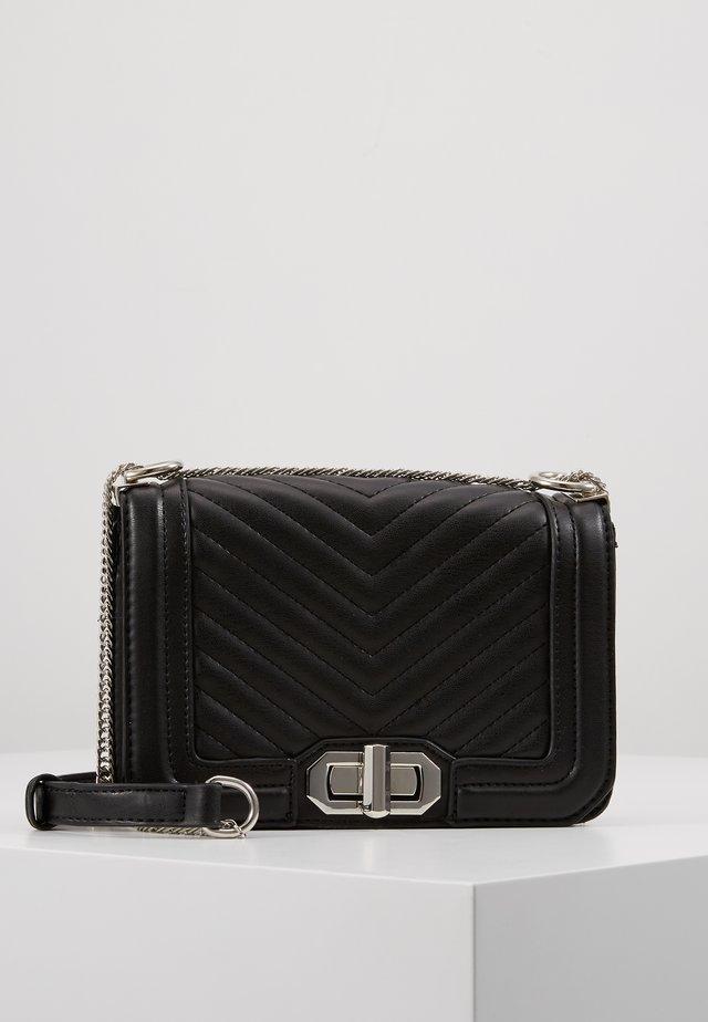 SELMA BAG - Taška spříčným popruhem - black