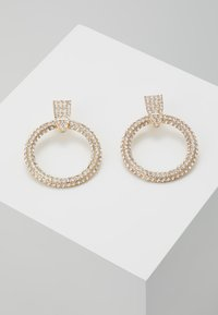 Pieces - PCDARLING EARRINGS - Náušnice - gold-coloured/clear - 0