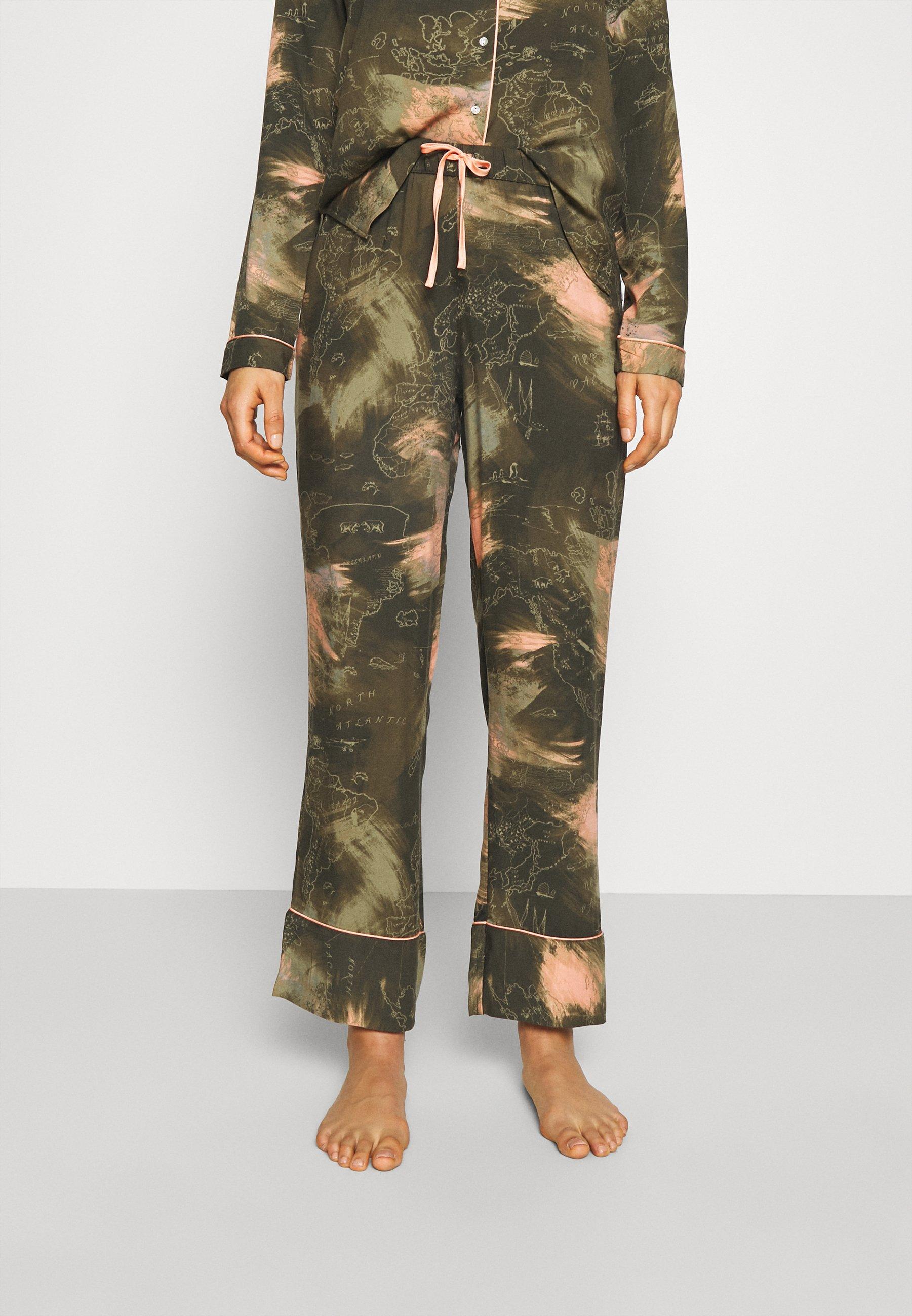 Femme PANT WORLD MAP - Bas de pyjama