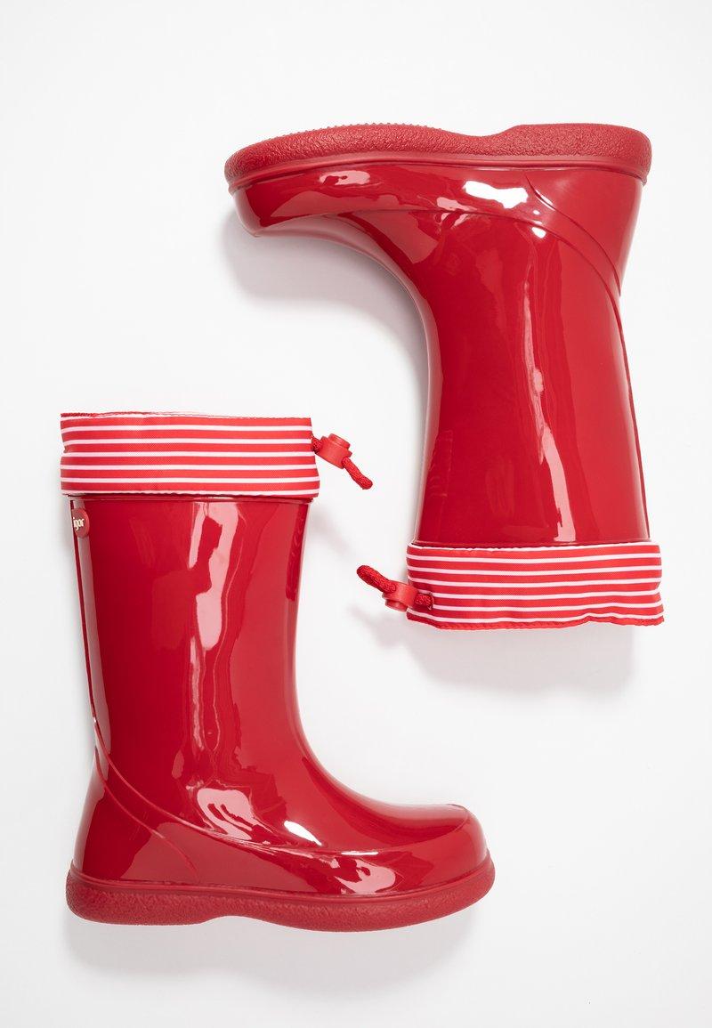 IGOR - PIPO NAUTICO UNISEX - Botas de agua - rojo/red