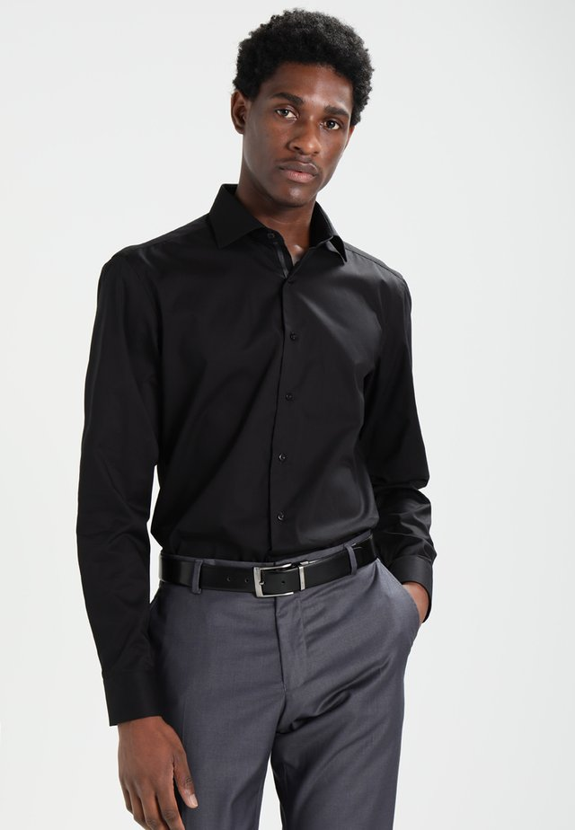 SLIM FIT - Camicia elegante - schwarz