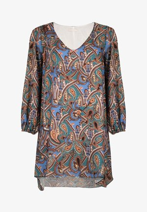 COVER-UP PAISLEY - Jurk - blue