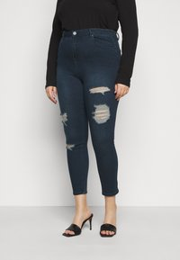 Simply Be - HIGH WAIST  - Jeans Skinny Fit - indigo - 0