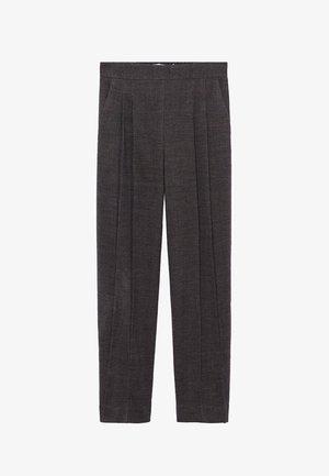 Pantalon classique - marron