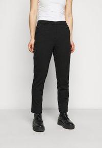 ONLY Petite - ONLLENIA MARA CIGARET  - Trousers - black - 0