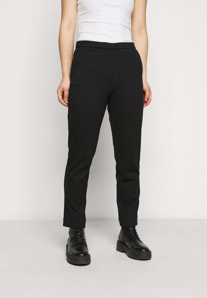 ONLY Petite - ONLLENIA MARA CIGARET  - Trousers - black