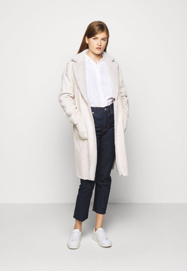 Classic coat - cream