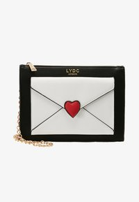 LYDC London - Across body bag - white/black - 5
