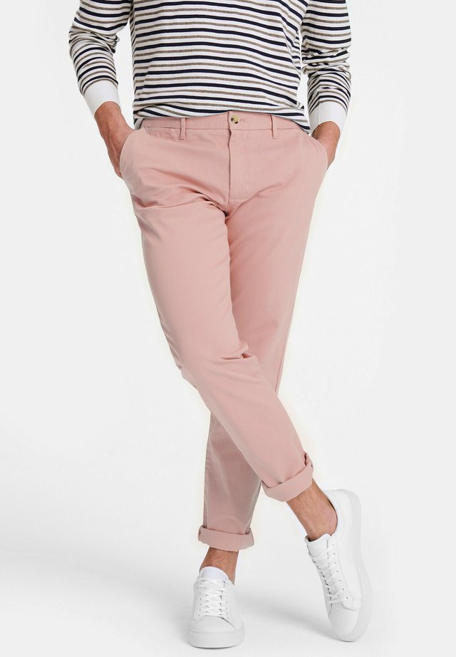 Chinos - old pink