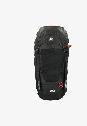 KALARI TRAIL - Hiking rucksack - black