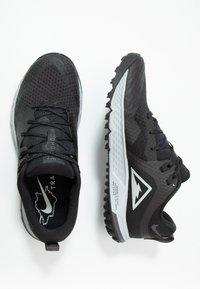 Nike Performance - AIR ZOOM WILDHORSE 5 - Zapatillas de trail running - black/barely grey/thunder grey/wolf grey - 1