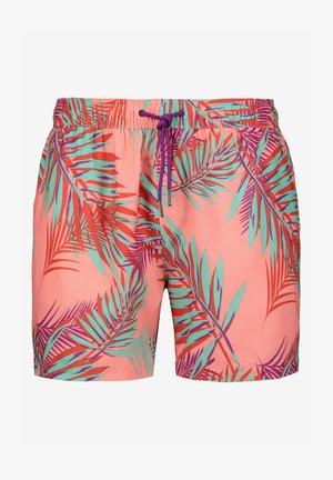 FLORAL PRINT - Zwemshorts - pink