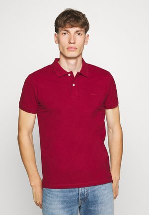 Polo shirt - bordeaux red